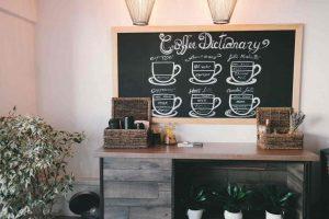 decoracion para cafeteria